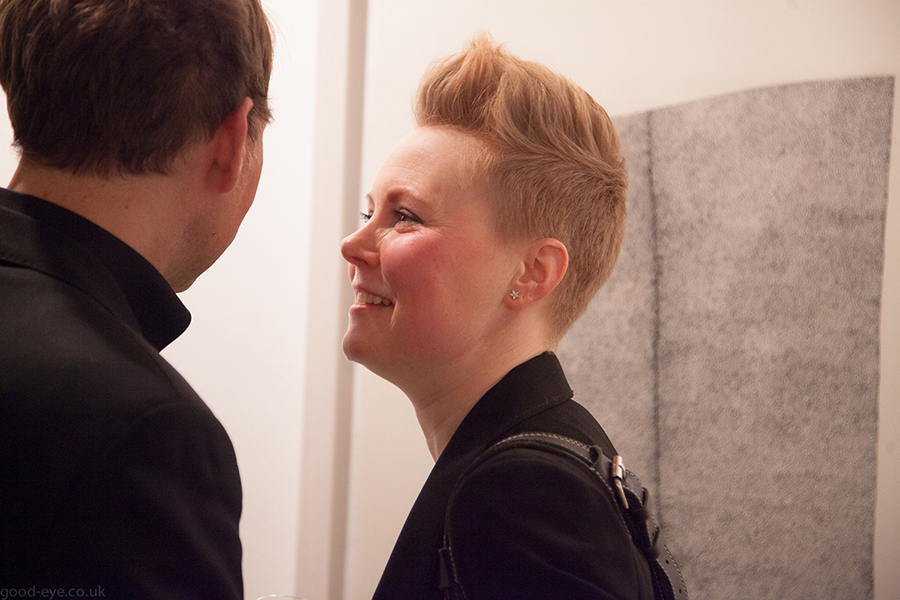 Good-eye event reportage - private view